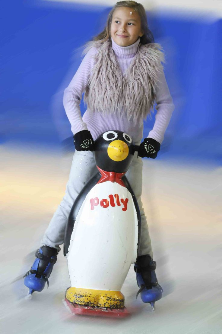 As well as our polar bear skate aids we also have these cute penguins! They even come with individual names!