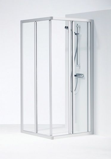 Ifo-Solid-dusjhjrne-SVH-aluminiumsprofiler-med-klart-herdet-sikkerhetsglass