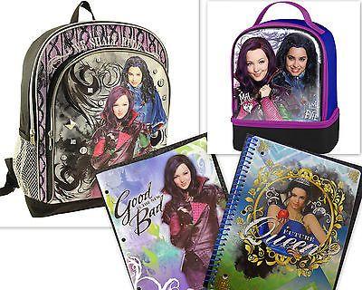 Disney Descendants School 16 Quot Backpack Lunch Bag Folder