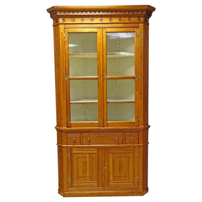 Original Finish 1920's Oak Sellers Kitchen Cabinet ...