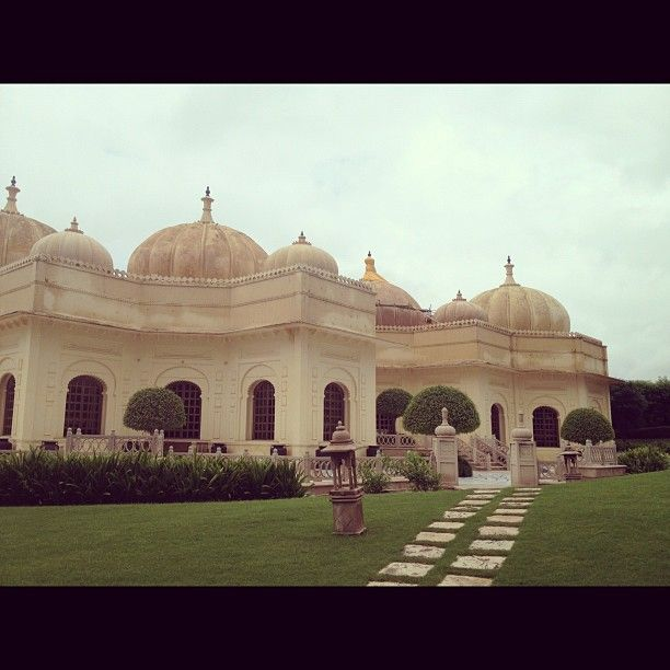Old School Architecture at The Oberoi Udaivilas, Udaipur