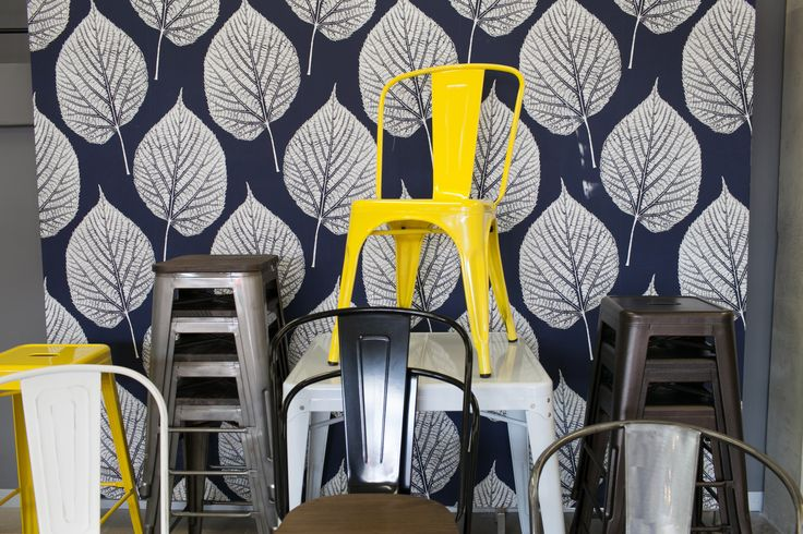 Tolix Chairs  Shop the range here: http://bit.ly/u3-seating