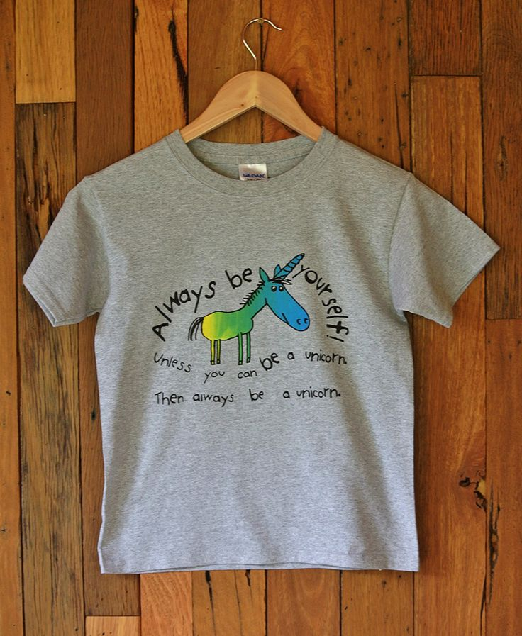 Childrens T-Shirt Unicorn