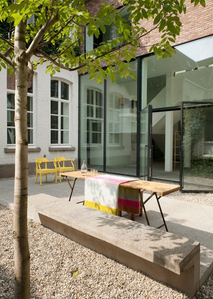 those windows on west wall Valerie Traan by Lens Ass Architects in Antwerp, Belgium   Gardenista