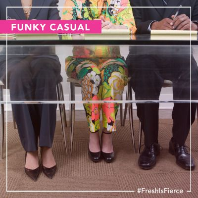 Whether it is a piece of statement jewelry or a head-to-toe look, do not be afraid to turn heads. #FreshIsFierce