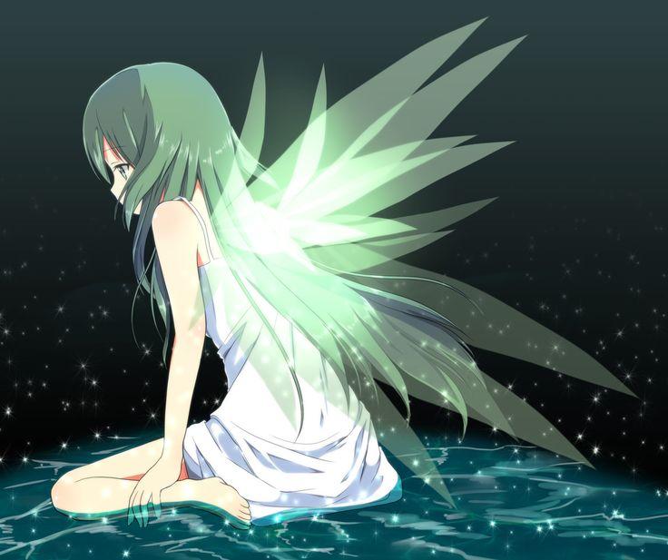 anime girl wings - photo #9