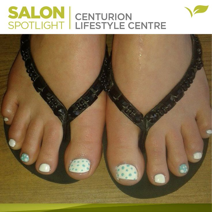 Fresh toe nail art designs from Placecol Skincare Clinic Centurion Lifestyle Centre