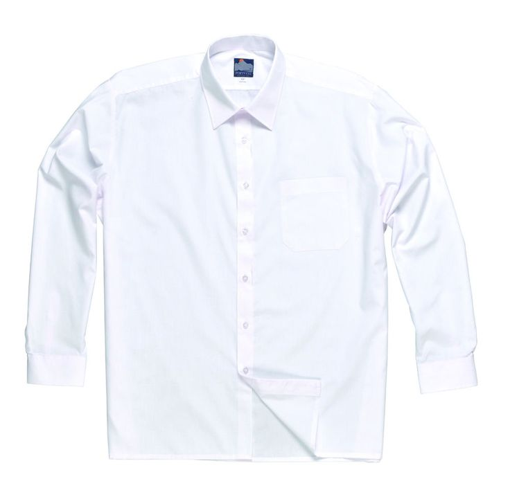 Camicia Classica bianca uomo m. Lunga alberghiero hotel Catering bar ristorante