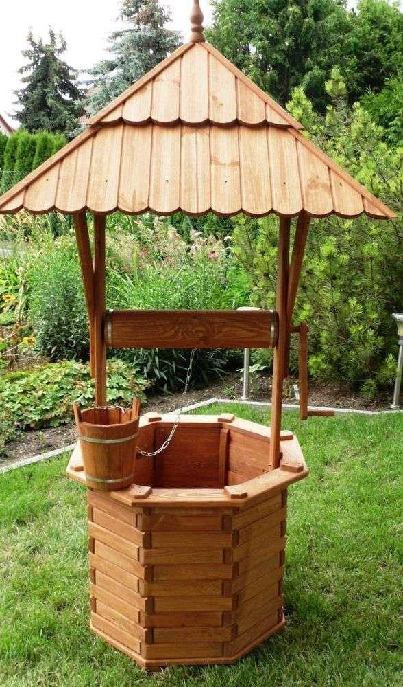 32 Genial Holzbrunnen Für Garten Garten Gallerie Ideen Pergola
