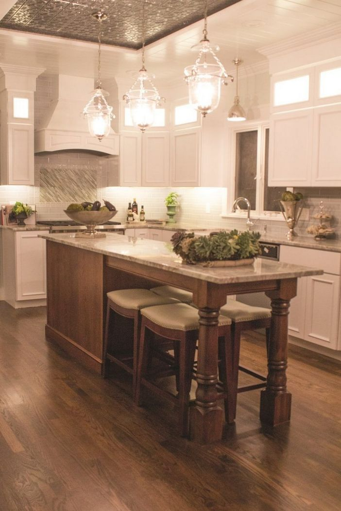40 Magnificent Kitchen Island Designs How To In 2020 Tuscan