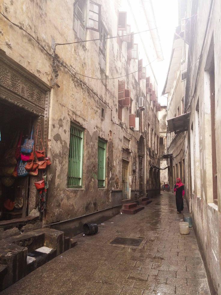 The streets of Stone Town. #Africa #Travel #Zanzibar