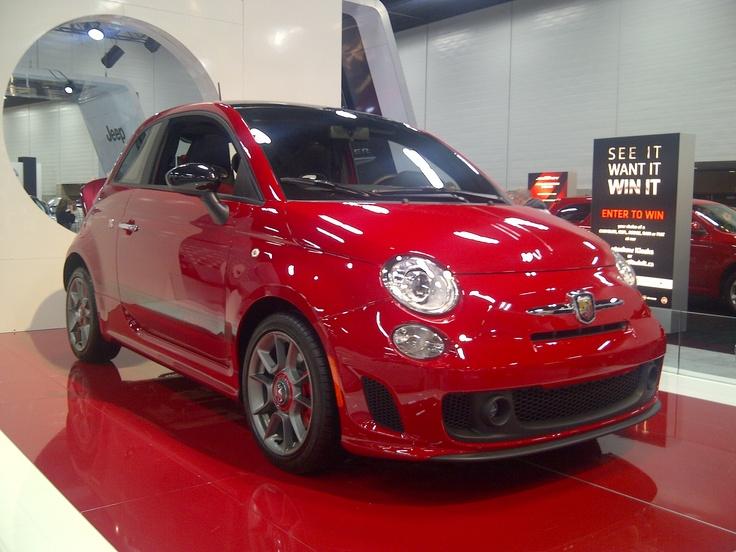 Fiat Abarth at the Edmonton Auto Show