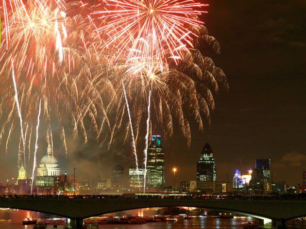 Bonfire Night firework displays in London 2016