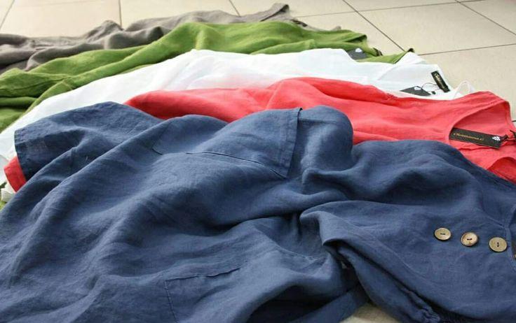 Δροσερά λινά φορέματα για τις καλοκαιρινές σας εμφανίσεις σε αποχρώσεις που θα λατρέψετε!   #ChristiannaG #fashion #summer #collection #linen #textile