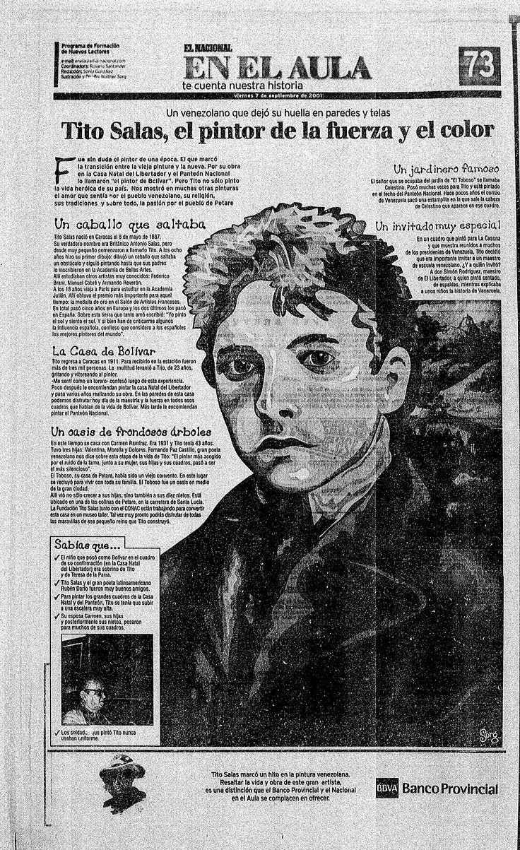 Tito Salas Publicado el 07 de septiembre de 2001  El Nacional en el