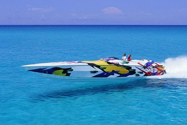 Drive a Boat over 100 MPH,,,now that's fun!