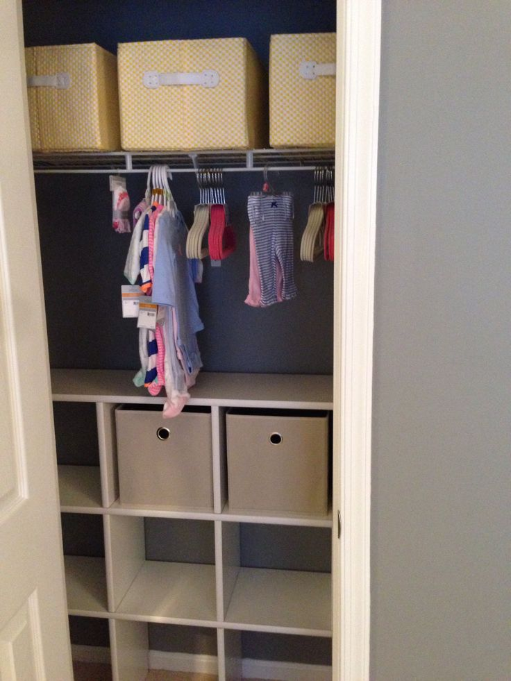 Shelving for closet!