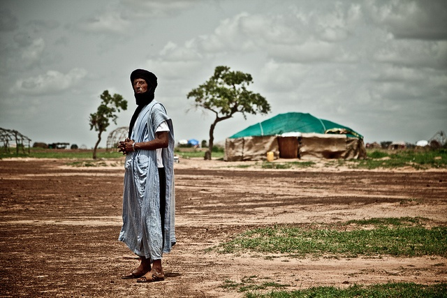 Malian refugee at Mentao camp in Burkina Faso by Oxfam International, via Flickr