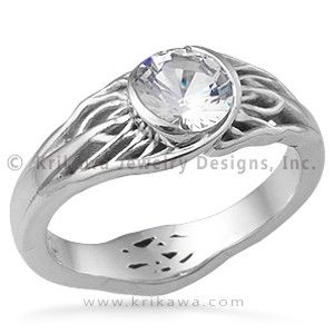Cable Wedding Band 64 Trend Wedding ring tree design