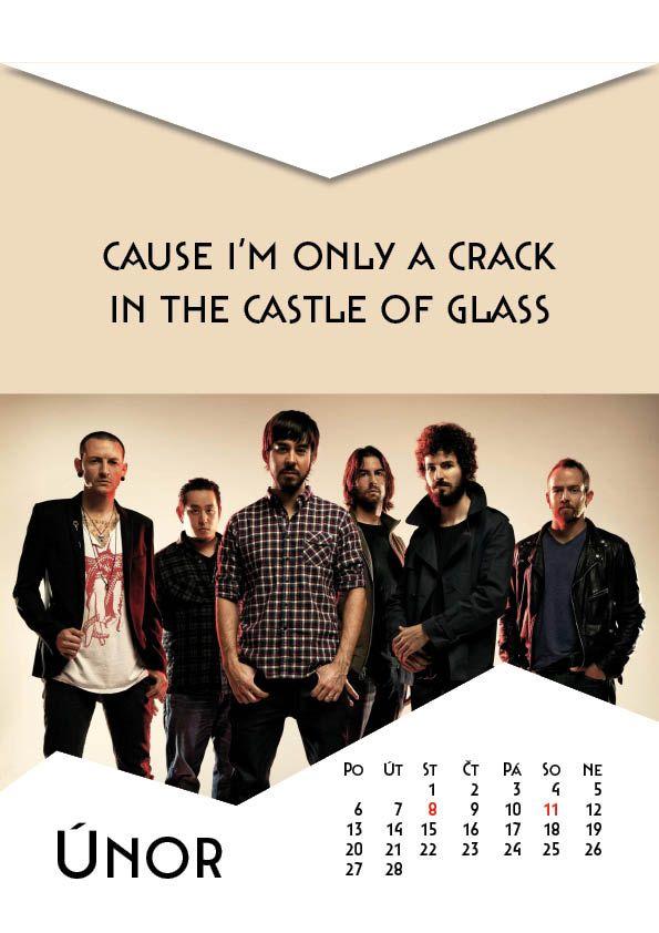 Linkin Park calendar CZ by Markéta Hanáková.