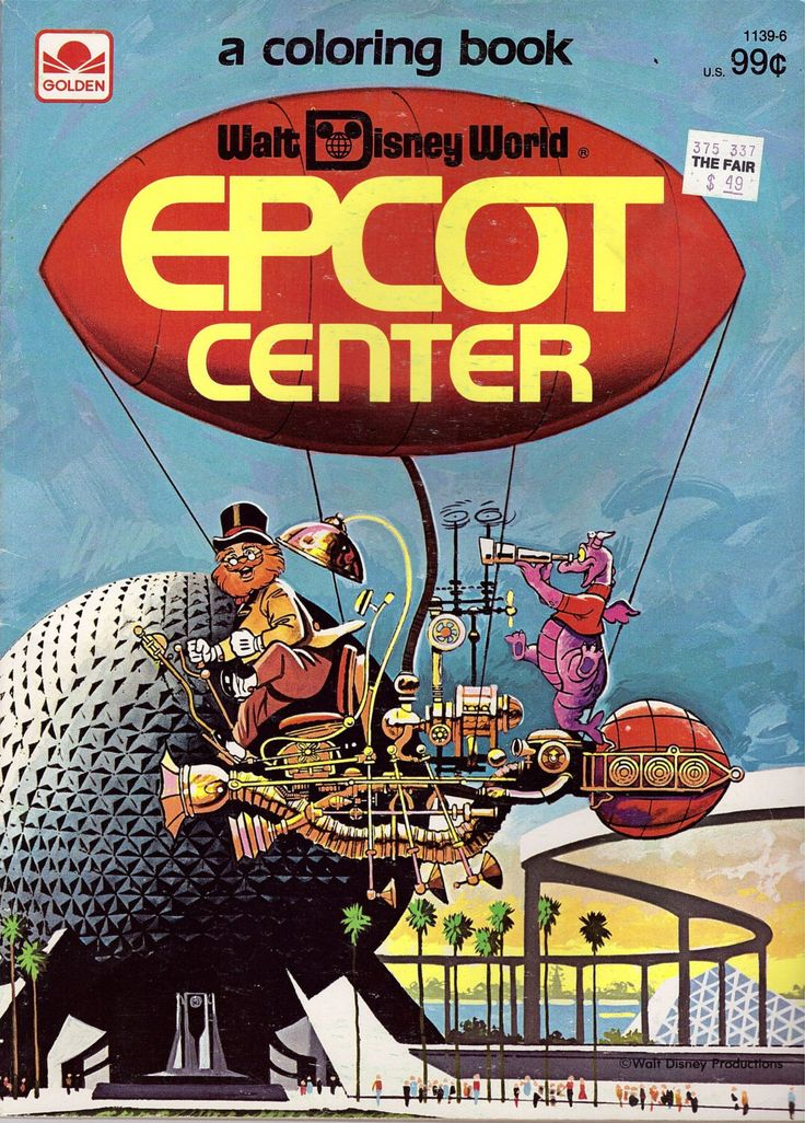 A Personal Favorite From My Etsy Shop Disney MouseEpcot CenterVintage