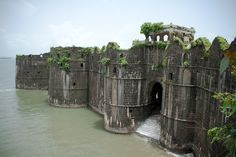 """""""JANJIRA WAS A SLAVE PORT IN INDIA DURING THE INDIAN OCEAN TRADE."""" ~SMR/Murud-Janjira Sea Fort, Murud, Maharashtra    Murud-Janjira is the local name for a fort situated at the coastal village of Murud, in the Raigad district of Maharashtra, India. It is famous for being the only fort along India's western coast that remained undefeated despite Maratha, Dutch and English East India Company attacks."""
