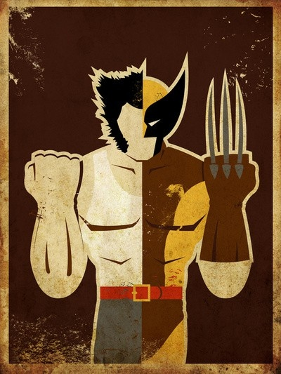 Wolverine (for the boys superhero room)