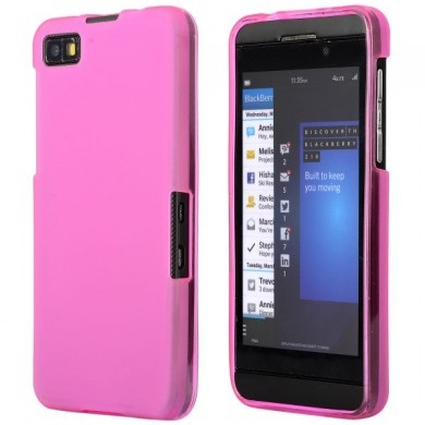 Custodia BlackBerry Z10 - Gel Smooth - Rosa