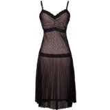 Flapper Lattice Lace Holiday Dress Babydoll Slipdress (Apparel)By PacificPlex