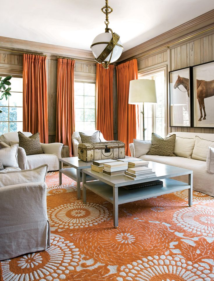 orange decorations for living room best 25 burnt orange curtains ideas on burnt 21509