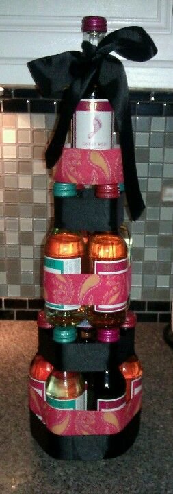 Who wants a beer cake when you can have a wine cake ladies;).... Manda Yarbrough pinterest overhaul!