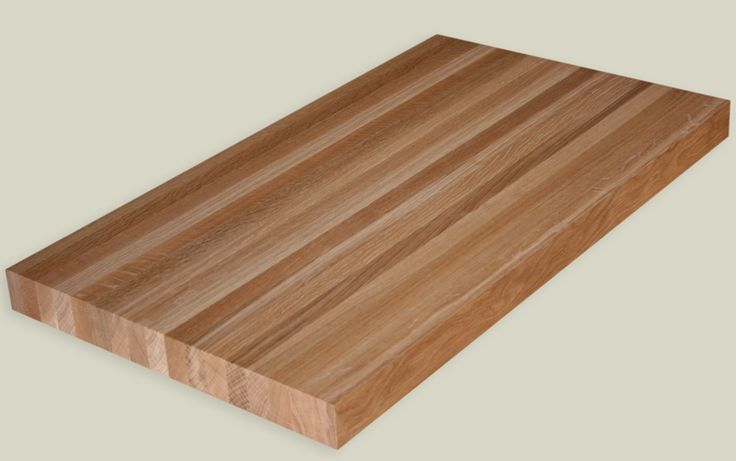 White Oak Butcher Block Countertop For The Island