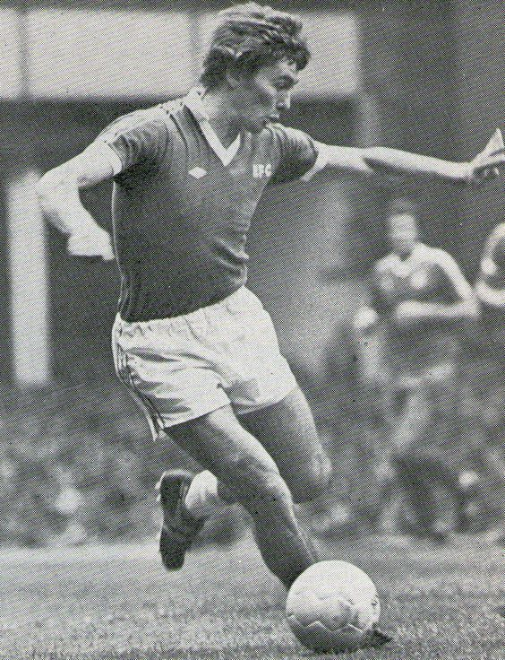 Dave Thomas of Everton in 1978.
