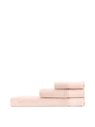 65% OFF Mili Designs NYC Stonewash Towel Set, Salmon