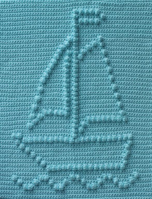 Sailboat Baby ... by Marilyn Sehn   Crocheting Pattern