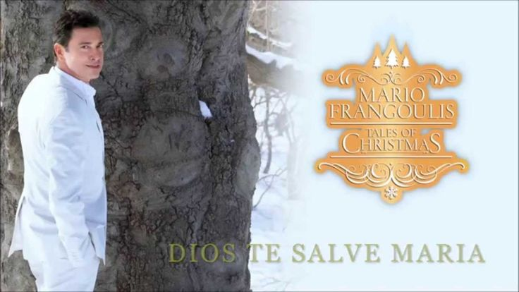 The beautiful voice of Mario Frangoulis. Song can be found on his latest album, TALES OF CHRISTMAS. Available from Amazon.com, iTunes, Googleplay and Greek Music Shop - http://www.greekmusicshop.gr/