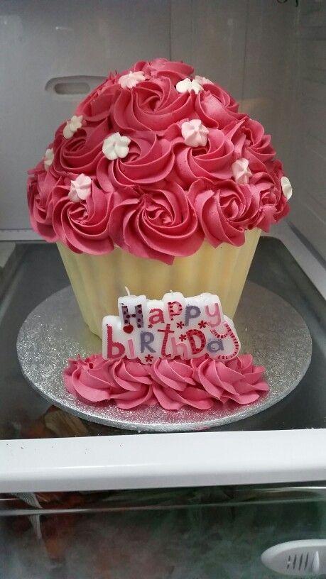 My First Big Cupcake