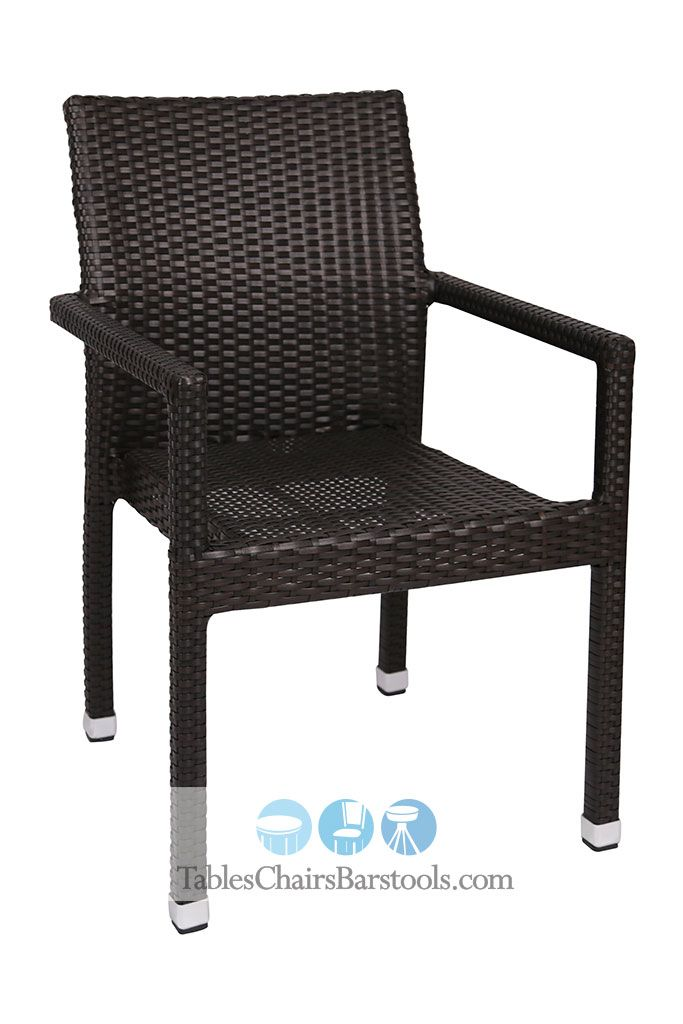 Cayman Collection Synthetic Wicker Arm Chair Prepare To Impress Your Customers With This Stylish Arm Chair From Our Cayman Collection