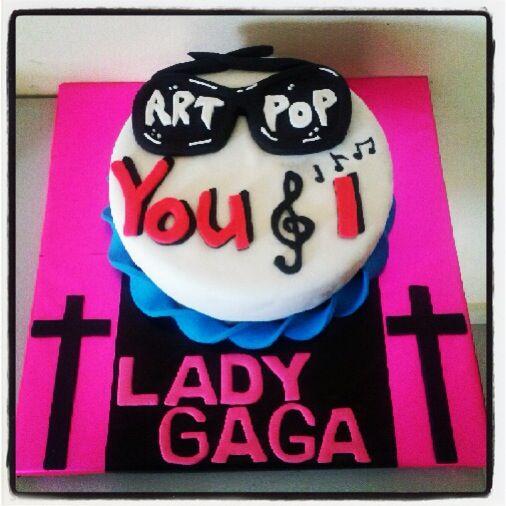 Lady Gaga Cake
