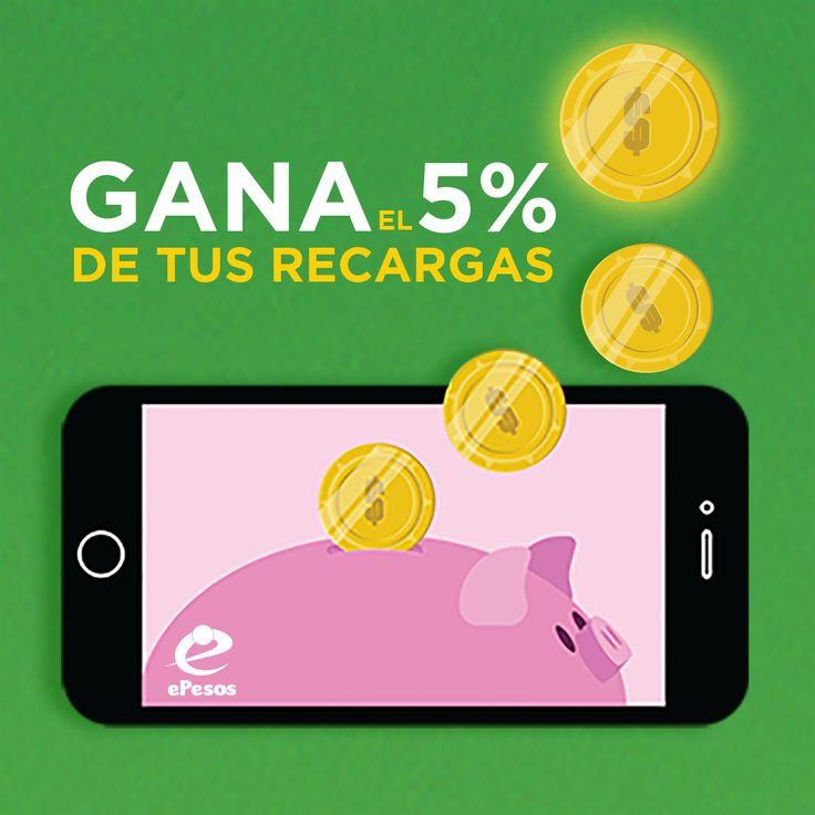 a tú celular, al de tus amigos, no importa la compañía de celular. ePesos.com