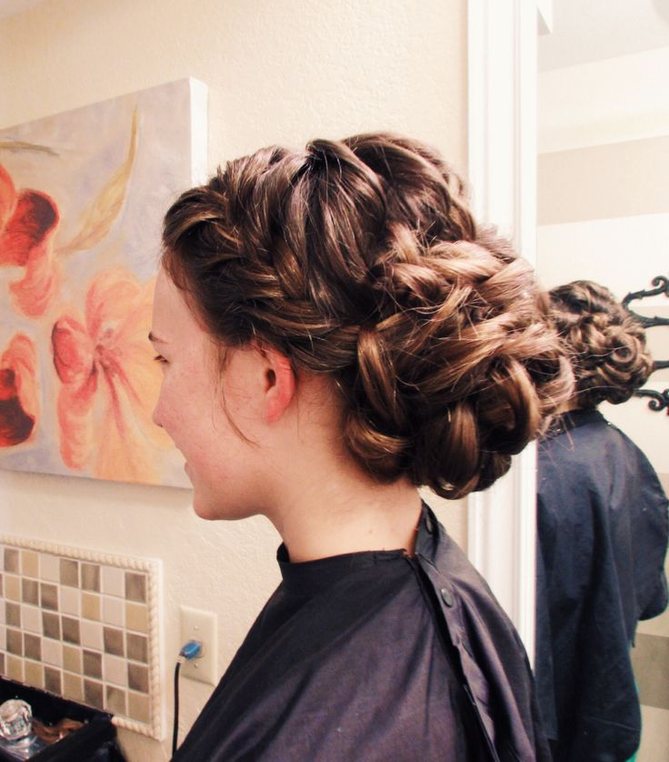 Formal Hair Hair Do S Braids Pinterest Peinados