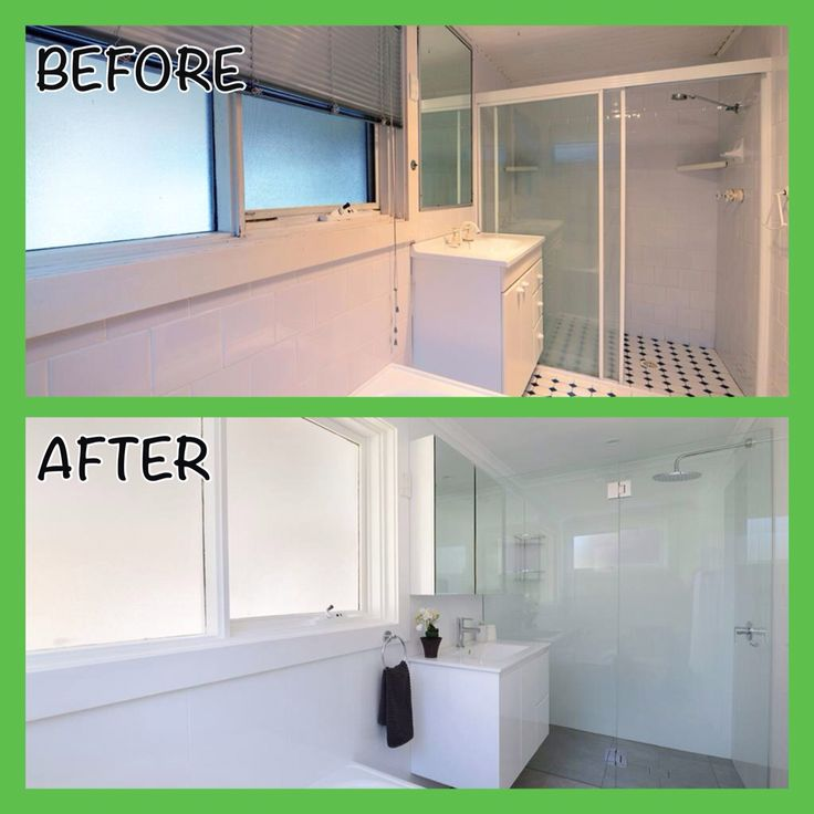 Bathroom #Renovation #beforeandafter