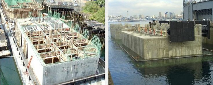 Industrial, honeycomb floating structure, dock, wharf, of the shelf concrete engineering, http://yook3.com, Wilfried Ellmer