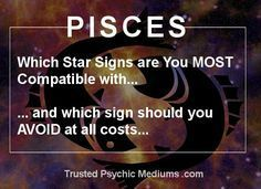 Pisces Dates and Compatibility are analysed and revealed in this exclusive report. Discover the best and worst matches for a Pisces date today.