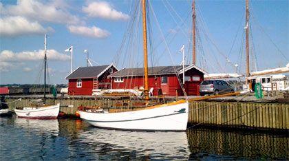Holbæk gammel havn.Se alle havne i Isefjorden http://isefjorden.com/havne/holbaek/