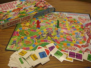 math facts or sight wordsSight Words, Candies Land, Multiplication Facts, Reading Games, Math Facts, Words Candies, Candyland, Sight Word Games, Candy Land