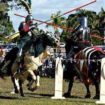 State Sport: Jousting, which requires horseback riders to spear small, suspended rings.