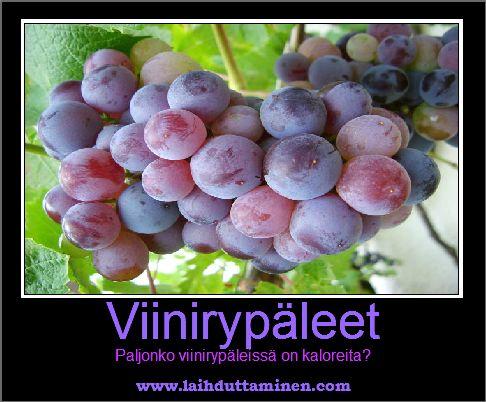 Viinirypäle kalorit ??