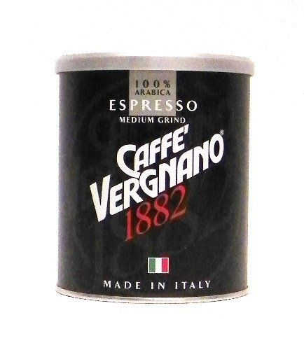 Caffe Vergnano Espresso Roast 100 Arabica Ground Coffee in Tin  Medium Grind 88 ounce ** Visit the image link more details. (This is an affiliate link and I receive a commission for the sales)