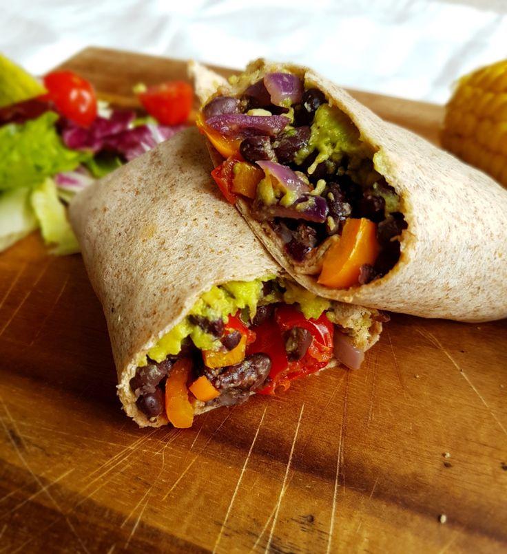 Burrito Rezept mit vegetarischer Füllung